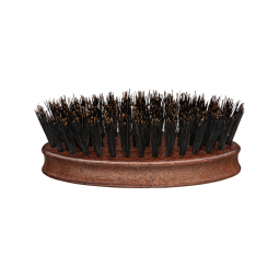Деревянная щетка для бороды (круглая) Eurostil BARBER LINE