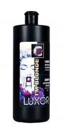 Шампунь для нейтрализации желтизны светлых оттенков волос Luxor Professional I`m Blonde Neutralizing Yellow Tones Shampoo, 1000 мл