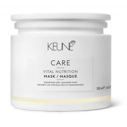 """Маска для сухих и поврежденных волос """"Основное питание"""" с провитамином В5 и протеинами пшеницы Keune Care Vital Nutrition Mask"""