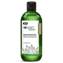 Шампунь-регулятор жирности волос Lisap Keraplant Nature Sebum-Regulating Shampoo