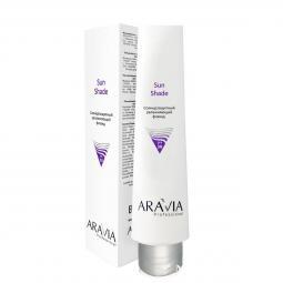 Солнцезащитный увлажняющий флюид для лица c SPF30 Aravia Professional Sun Shade SPF30