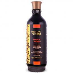 Кератин для выпрямления нормальных и умеренно вьющихся волос Lux Keratin Therapy Premium Collagen, 1000 мл