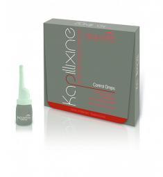 Средство против выпадения волос с экстрактом красного женьшеня в ампулах Nouvelle Kapillixine Ultra Drops