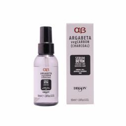 Детоксицирующая балансирующая сыворотка для волос с масламилаванды, иланг-иланга Dikson Argabeta Vegan Carbon Serum Detox