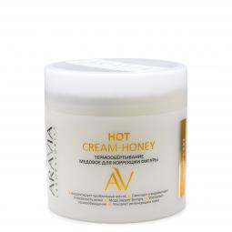 Термообёртывание медовое для коррекции фигуры тела ARAVIA Laboratories Hot Cream-Honey