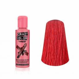 """Тинт-краска для волос """"Насыщенный красный"""" Crazy Color Wermillion Red"""