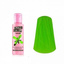 """Тинт-краска для волос """"Зеленый ультрафиолет"""" Crazy Color Toxic UV"""