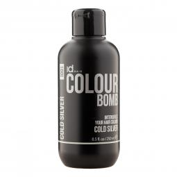 Тонирующий бальзам для волос с кератином Cold Silver Id Hair Colour Bomb Cold Silver