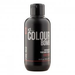 Тонирующий бальзам для волос с кератином Fire Red Id Hair Colour Bomb Fire Red