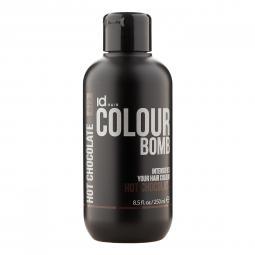 Тонирующий бальзам для волос с кератином Hot Chocolate Id Hair Colour Bomb Hot Chocolate