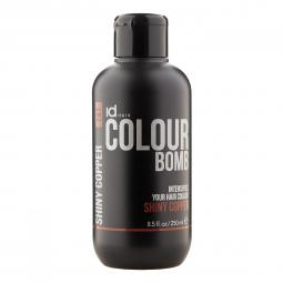 Тонирующий бальзам для волос с кератином Shiny Copper Id Hair Colour Bomb Shiny Copper