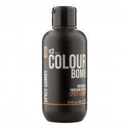 Тонирующий бальзам для волос с кератином Spicy Curry Id Hair Colour Bomb Spicy Curry
