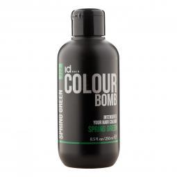 Тонирующий бальзам для волос с кератином Spring Green Id Hair Colour Bomb Spring Green