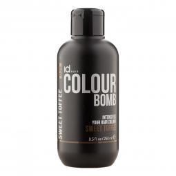 Тонирующий бальзам для волос с кератином Sweet Toffee Id Hair Colour Bomb Sweet Toffee