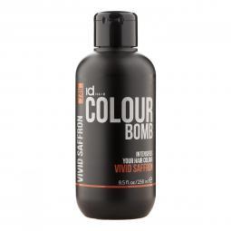 Тонирующий бальзам для волос с кератином Vivid Saffron Id Hair Colour Bomb Vivid Saffron