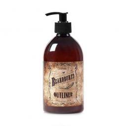 Увлажняющий расслабляющий бесцветный бальзам-эмульсия для контурного бритья Beardburys Outliner Emulsion