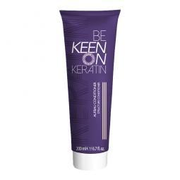 Восстанавливающий кондиционер для волос KEEN Keratin Aufbau Conditioner