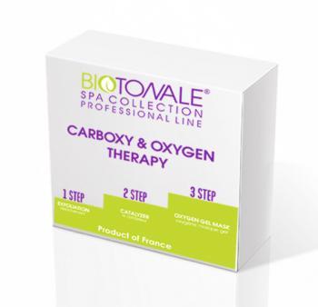 Фото Увлажняющая отбеливающая карбокситерапия с кислородной маской для сухой кожи лица Biotonale