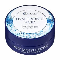 Увлажняющие гидрогелевые патчи под глаза с гиалуроновой кислотой Esthetic house Hyaluronic Acid Hydrogel Eye Patch