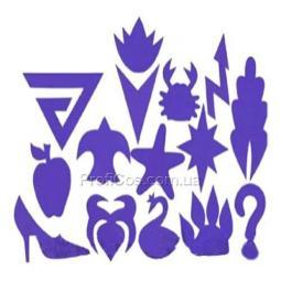 Набор трафаретов для бикини-дизайна №2 Аюна