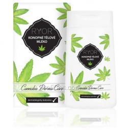 Регенерирующее молочко для тела с марихуаной Ryor Cannabis