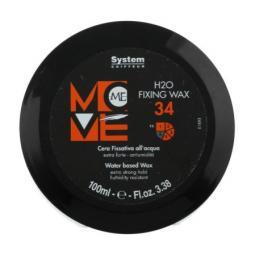 Воск для волос экстра сильной фиксации на водной основе Dikson Move-Me Н2О Fixing Wax 34