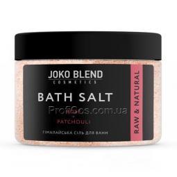 """Омолаживающая гималайская соль для ванны от целлюлита """"Роза и пачули"""" Joko Blend Bath Salt"""