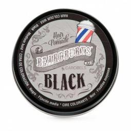 Тонирующий воск для волос с черной краской Beardburys Hair Pomade Black