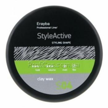 Фото Воск для волос с матовым эффектом ERAYBA STYLE ACTIVE S04 Clay Wax