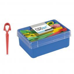 Пластиковые зажимы для волос (большие разноцветные) Eurostil 00066