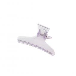 Пластмассовый зажим для волос (12 шт., сиреневый прозрачный) Comair 3150174