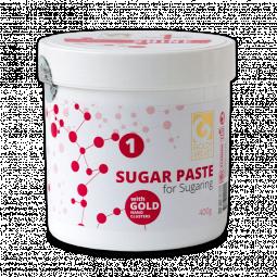 """Золотая сахарная паста для шугаринга """"Ультра мягкая - 1"""" Velvet GOLDY"""