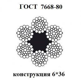 Канаты ГОСТ 7668-80