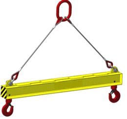 Траверса линейная 15 тонн 4 метра(с двумя точками подвеса)
