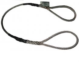 Строп канатный-стальной СКП 2 тонны (чалка канатная)