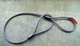 Строп канатный-стальной СКП 3.2 тонны 1 метр(чалка канатная)