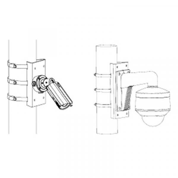 Кронштейн для крепления на столб DS-1275ZJ-SUS