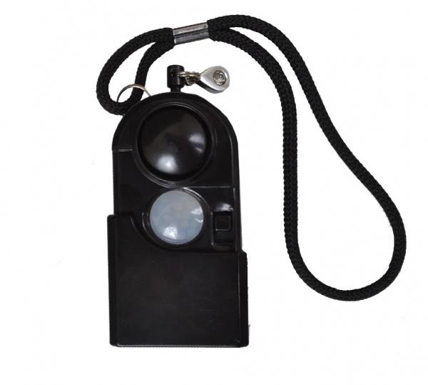Брелок + персональная сигнализация + фонарь (датчик движения/экстренная сирена)