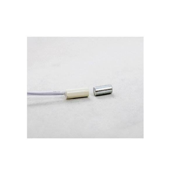Магнитоконтакт (тонкий) врезной пластиковый U-tex UT-04R