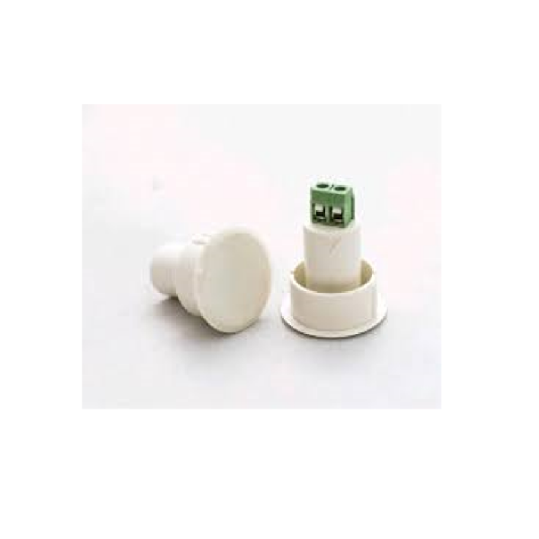 Магнитоконтакт (бронь) врезной пластиковый U-tex UT-11RT White