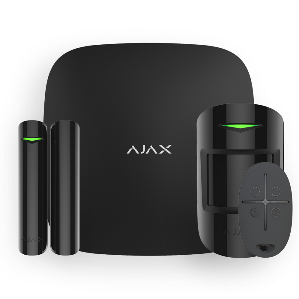 Комплект сигнализации Ajax StarterKit Plus Black