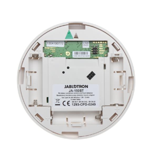 Беспроводной детектор дыма и температуры JABLOTRON  JA-150ST