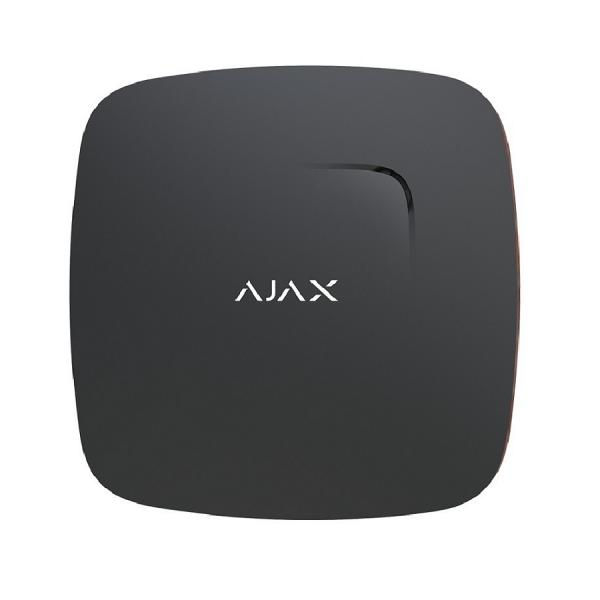 Беспроводной датчик детектирования дыма Ajax Fire Protect Black