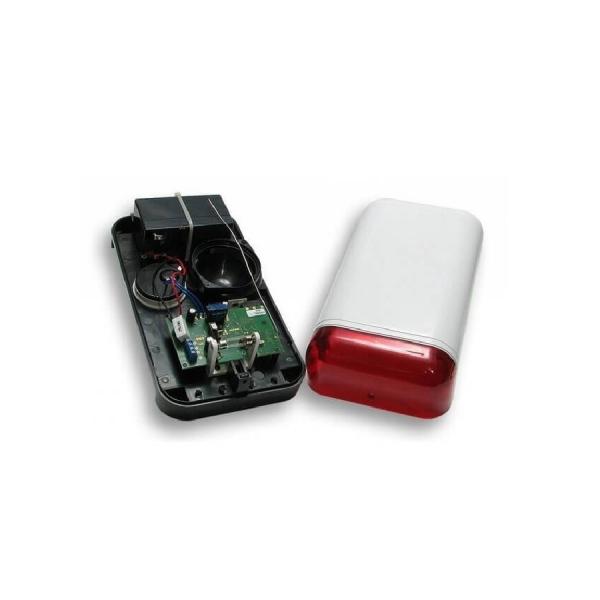 Уличный свето-звуковой оповещатель Elmes Electronic WSS с резервным питанием
