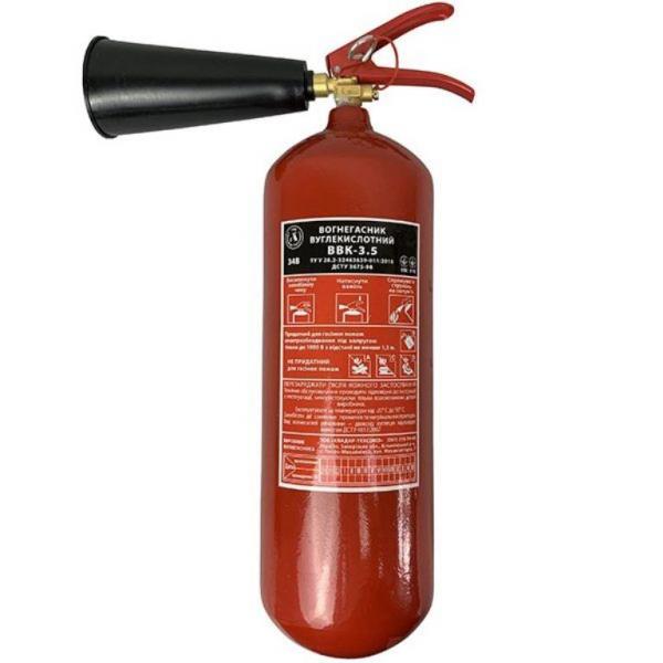 Огнетушитель углекислотный ОУ 5 (ВВК3,5)