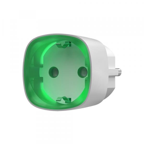 Радиоуправляемая умная розетка Ajax Socket (белая)