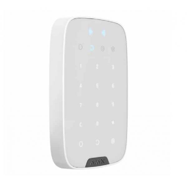 Беспроводная сенсорная клавиатура  Ajax Key Pad Plus White