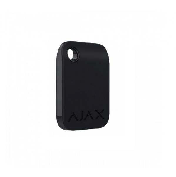 Брелок для управления охранной системой Ajax Tag Black (комплект 100 шт)