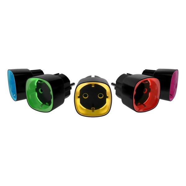 Радиоуправляемая умная розетка Ajax Socket (черная)