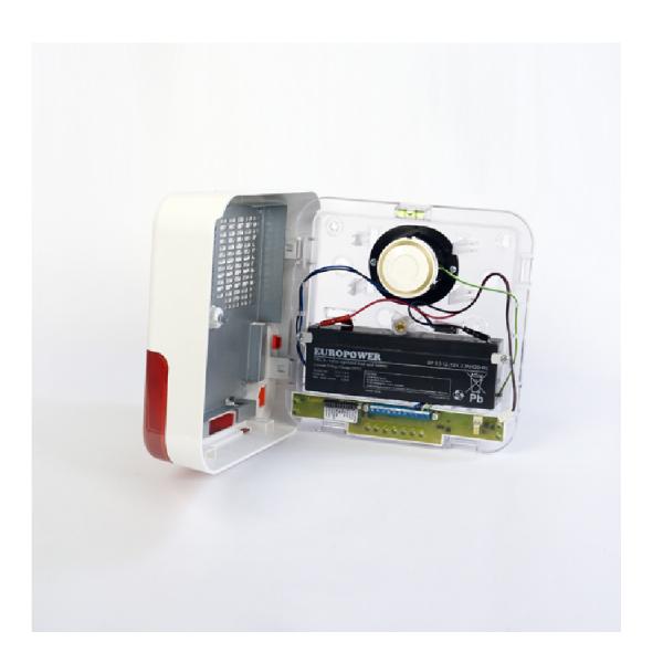 Светозвуковая сирена Satel SP-6500 R для установки вне помещений
